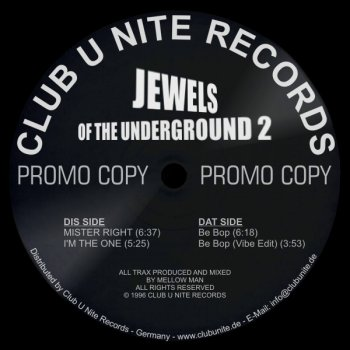 Jewels of the Underground 2 - Be Bop Vibe Edit