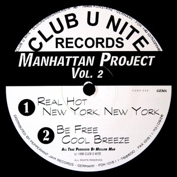 Manhattan Project Vol. 2 - Be Free (6:43)