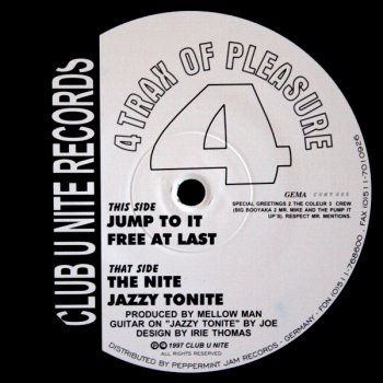 4 Tracks Of Pleasure - Jazzy Tonite (5:49)