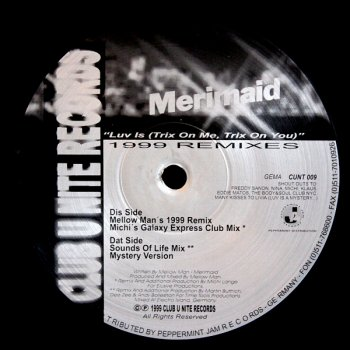 Merimaid - Luv Is (Mellow Man's 1999 Remix Instrumental)