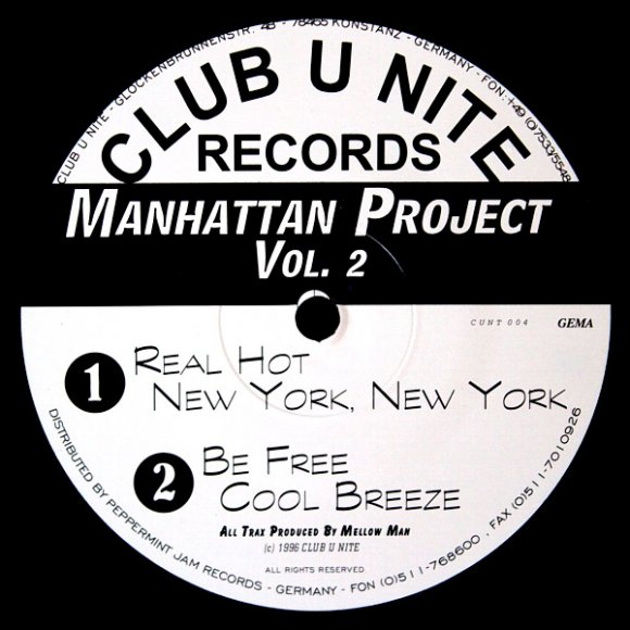 Manhattan Project Vol. 2 - Real Hot (7:50)