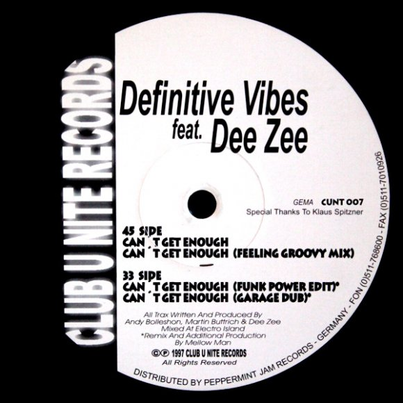 Definitive Vibes - Can't Get Enough (Funk Power Edit) (7:10)