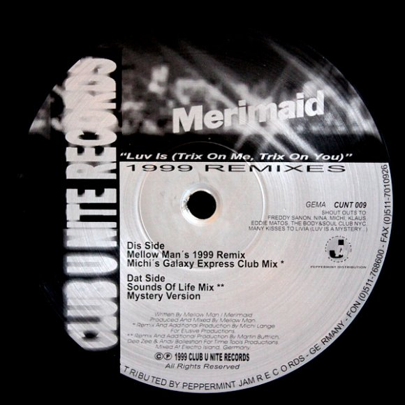 Merimaid - Luv Is (Michi's Galaxy Express Club Mix)